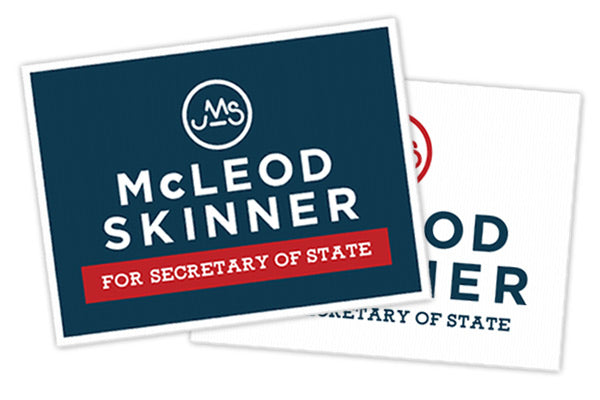 JMS Campaign Yard Sign