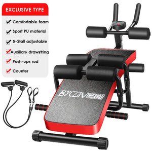 Multifunction Fitness Machines For Folding Home Sit Up Abdominal Bench fitness Board abdominal Exerciser Equipments Gym Training