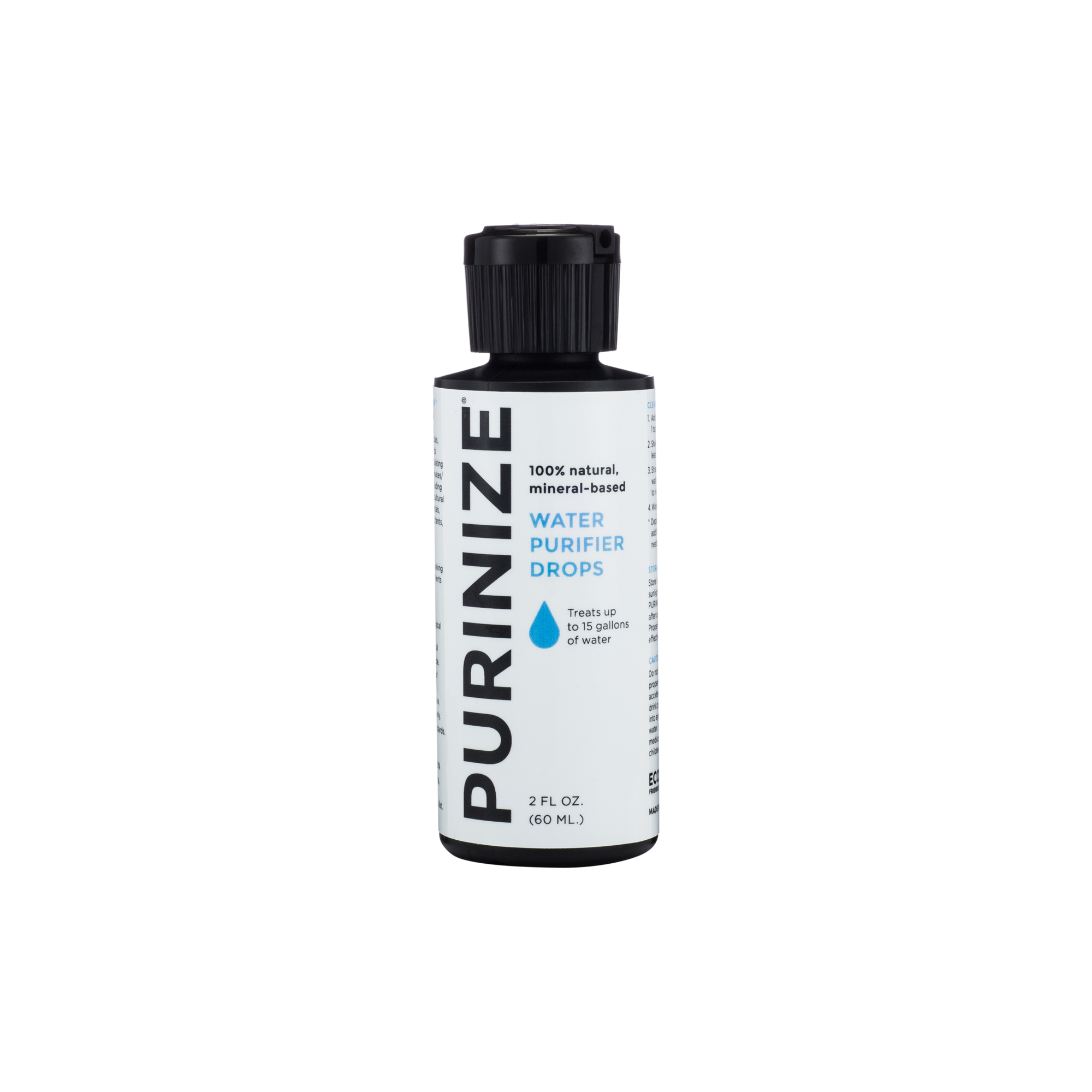 PURINIZE® WATER PURIFIER DROPS 2 OZ.