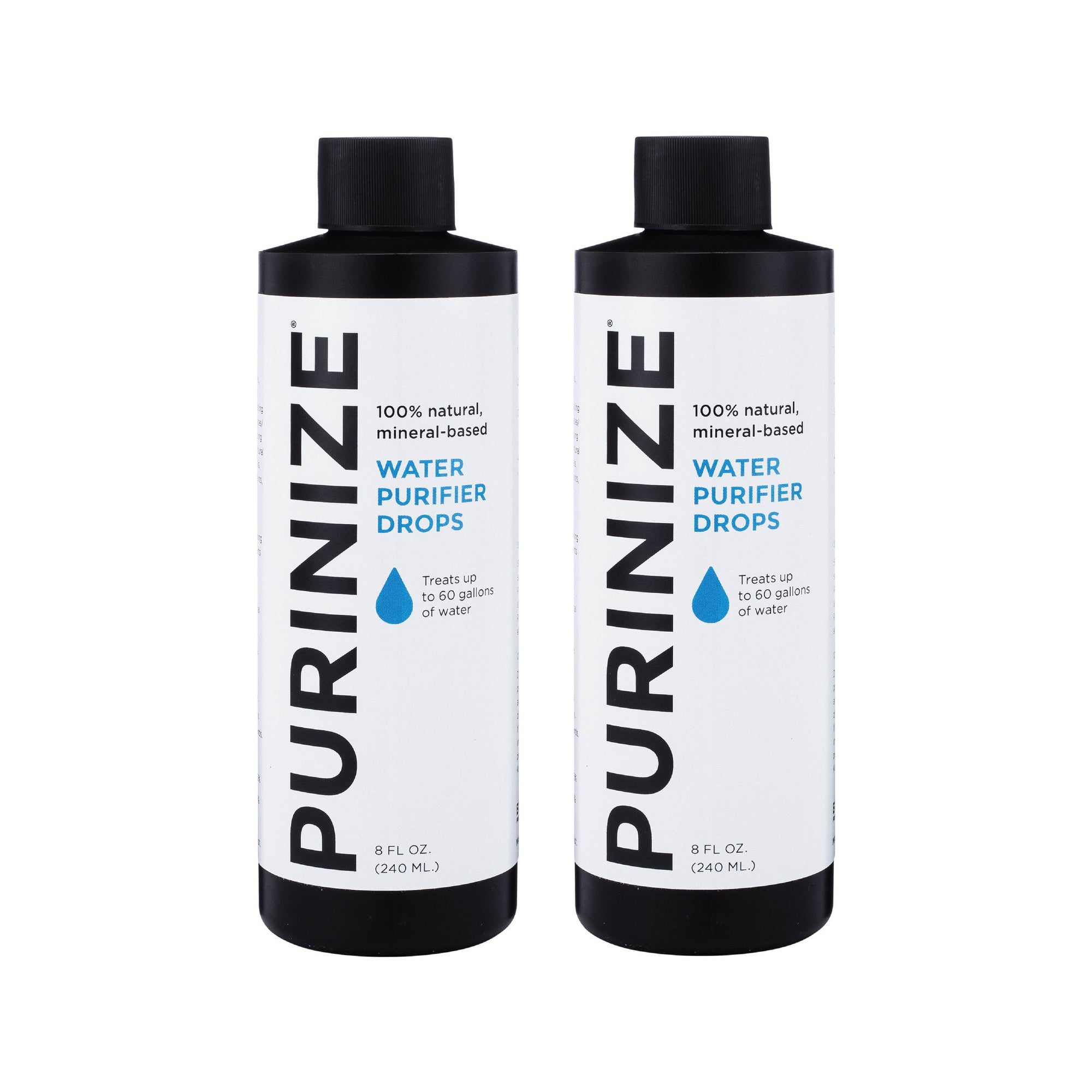 PURINIZE® WATER PURIFIER DROPS 8 OZ. 2-PACK (10% OFF)