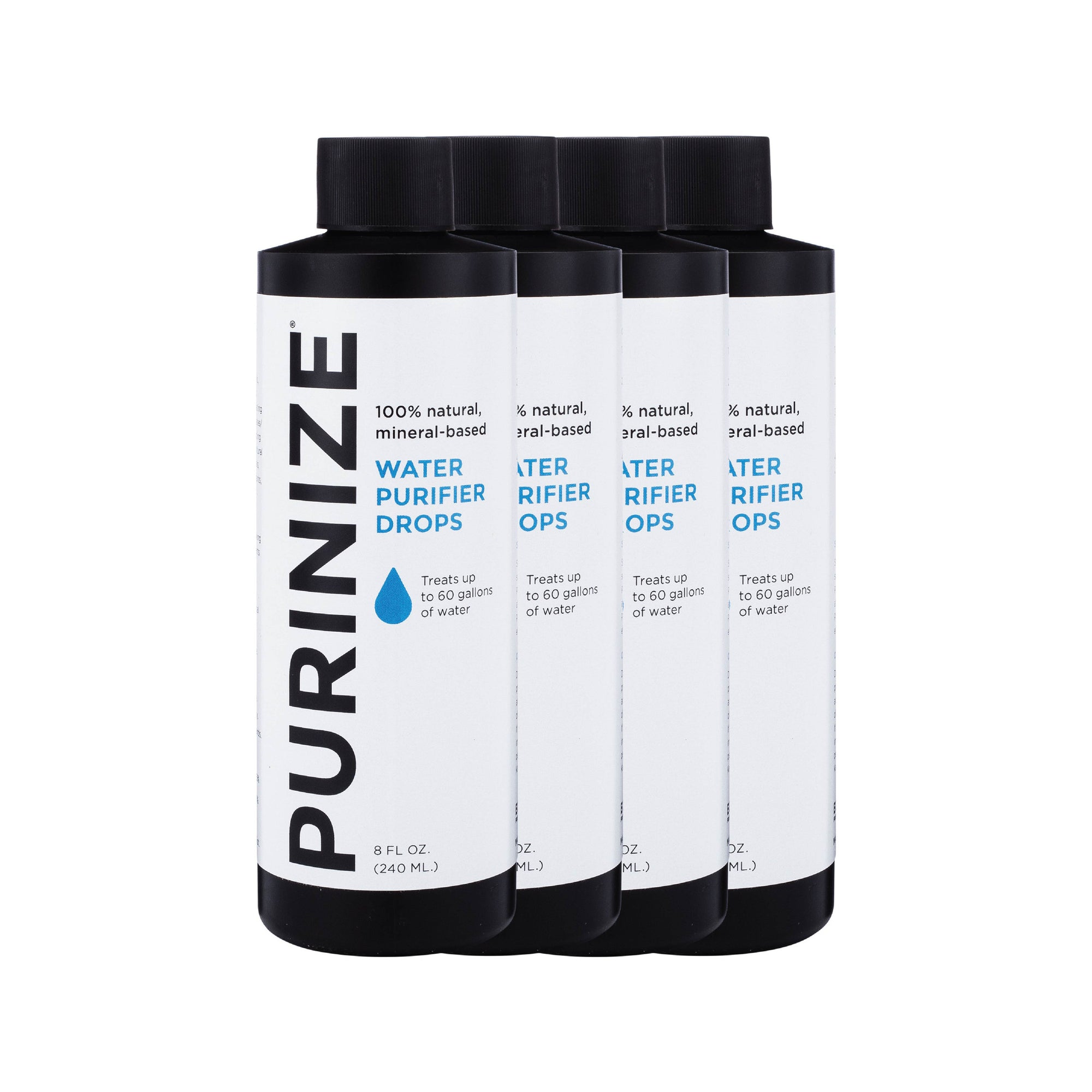 PURINIZE® WATER PURIFIER DROPS 8 OZ. 4-PACK (15% OFF)