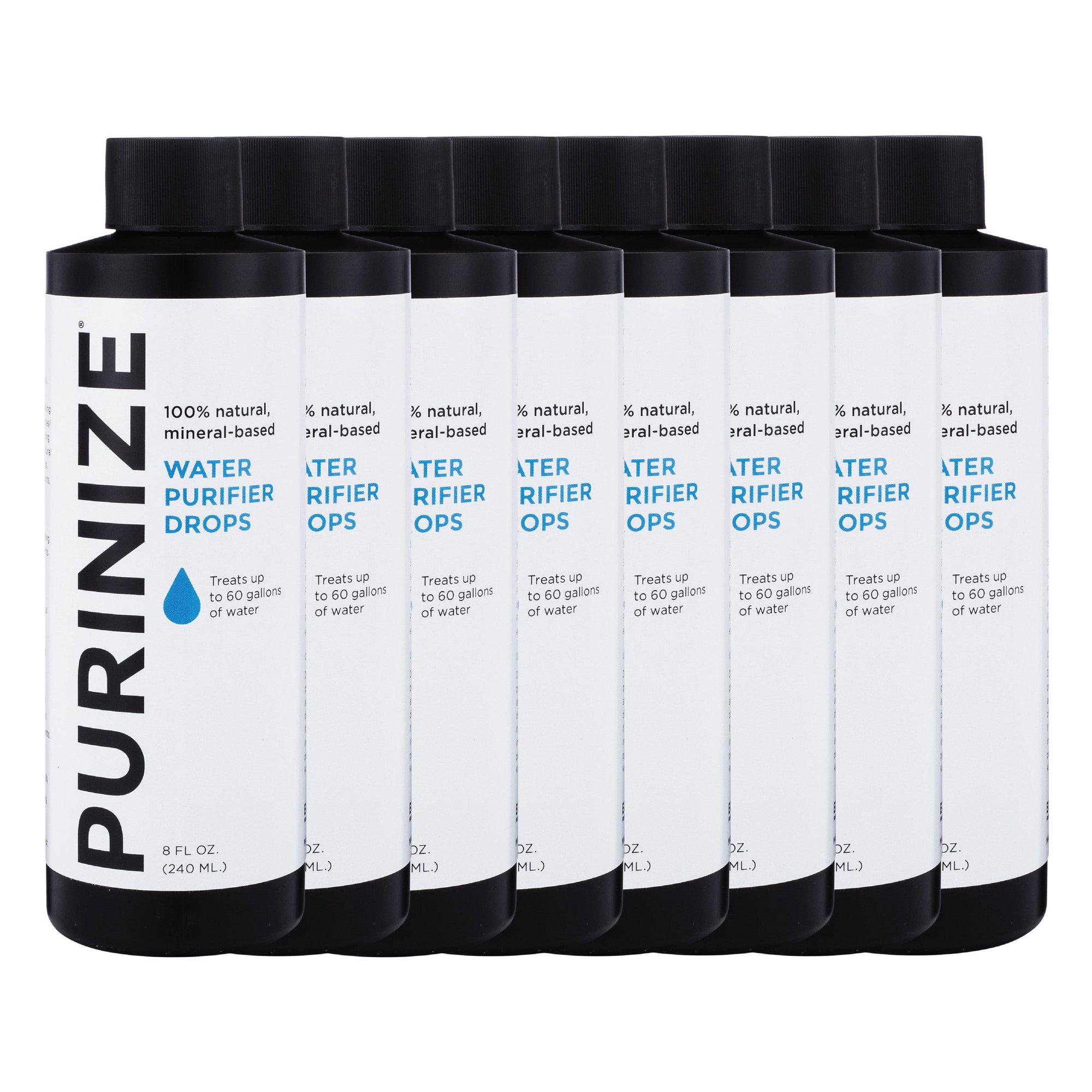 PURINIZE® WATER PURIFIER DROPS 8 OZ. 8-PACK (20% OFF)