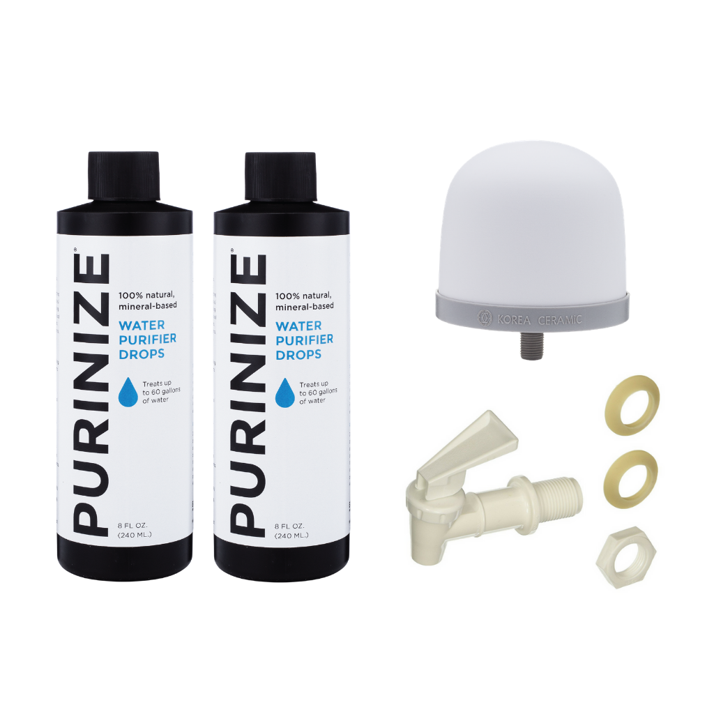 PURINIZE® DIY WATER BUCKET KIT