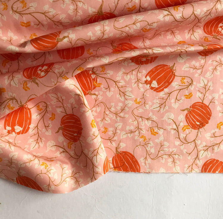 Through The Pumpkin Patch by Art Gallery Fabrics' Spooky n' Sweet Collection 100% Cotton