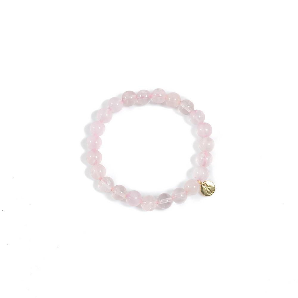 Amour Bracelet Quartz Rose Colour - CLÉONE