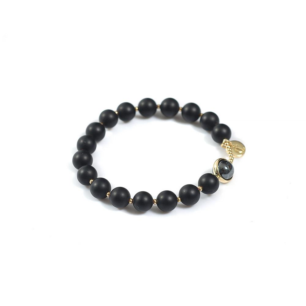 Exquise Bracelet Hematite Black Colour - CLÉONE