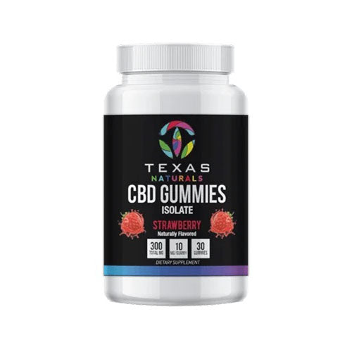 Strawberry Isolate CBD Gummies