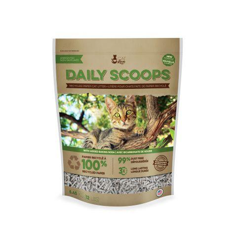 Cat Love Daily Scoops Paper Litter