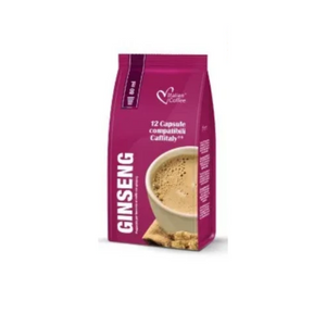 12 Capsule Caffè Ginseng Dolce Compatibili Caffitaly