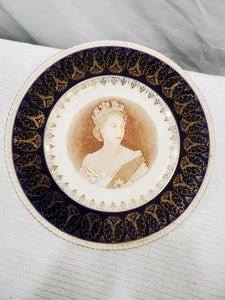 Vintage Collector Plate - Coronation