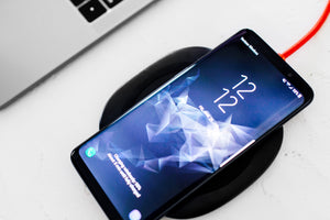 10W Wireless Charge Pad For Qi-enabled for iPhone, Samsung and Android