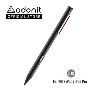 Adonit Note Palm Rejection Stylus | Works with 2018 iPads or newer