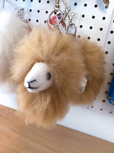 Load image into Gallery viewer, Alpaca Head Keychain Bag Charm
