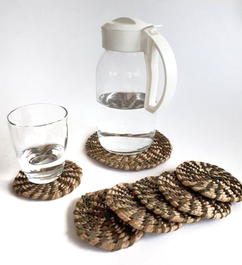 Dapel Pitcher and Glass Coaster