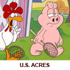 U. S. Acres featured on Garfield & Friends TV Show