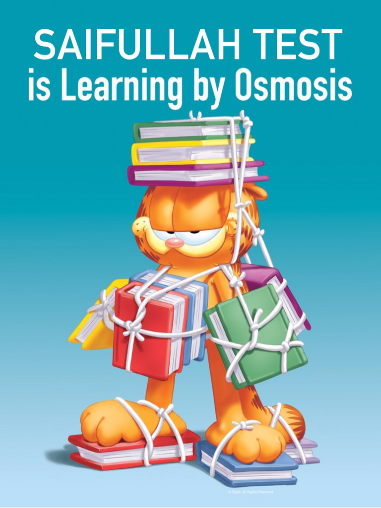 Learning by Osmosis Personalized Poster