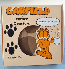 Leather Coasters From Paws Inc