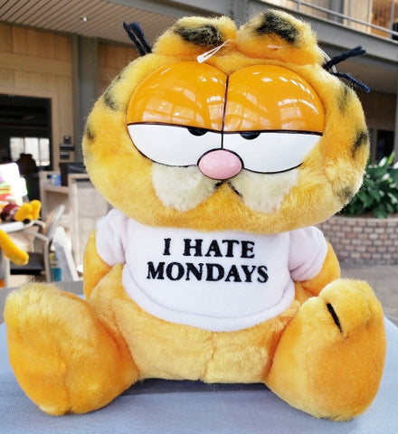 "Garfield "" I Hate Mondays"" Plush"