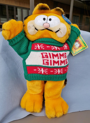 "Garfield  "" GIMME GIMME"" Plush"