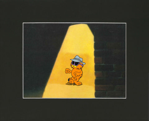 Garfield: His 9 Lives Animation Cel