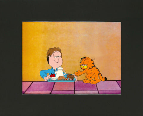 Garfield's Halloween Adventure Animation Cel