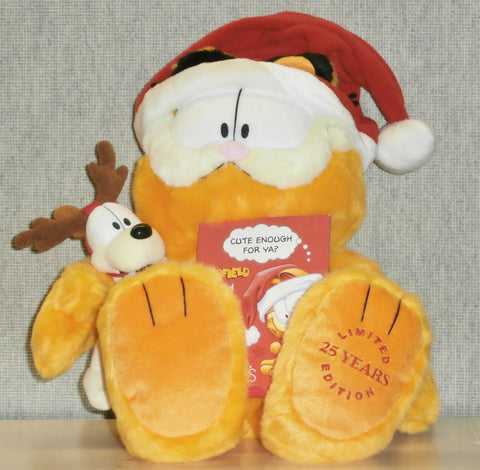 "Garfield Plush ""Macy's Limited 25 Years Edition"""