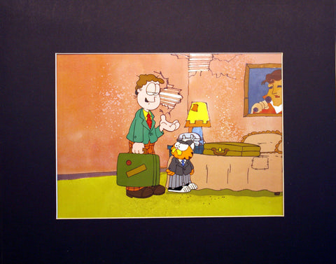 Garfield in Paradise Animation Cel