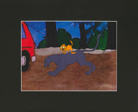 Garfield in the Rough Animation Cel