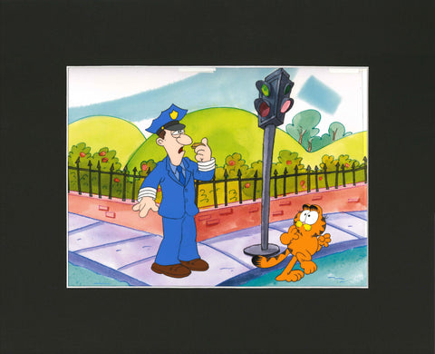 Garfield and Friends Animation Cel