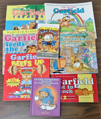 Garfield book assortment