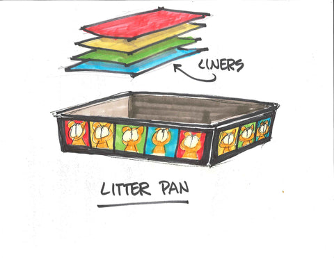Garfield Litter Pan
