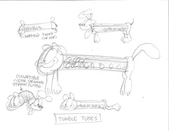 "Garfield ""Tumble Tubes"""