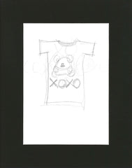 Sketch of Pooky t-shirt