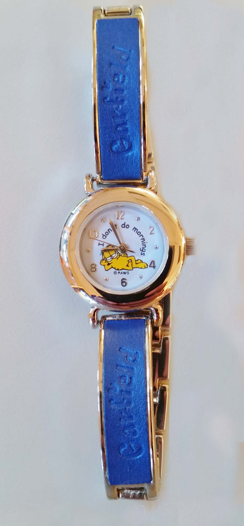 "Garfield Ladies Watch ""I don't do mornings"""