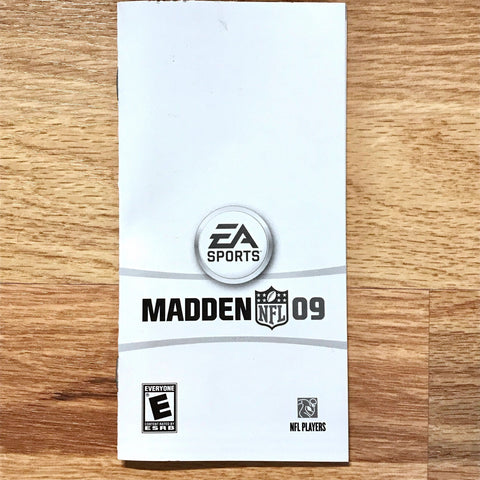 Madden NFL 09 Instruction Manual