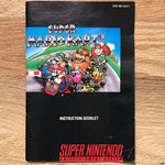 Super Mario Kart Instruction Manual
