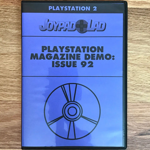 PlayStation Magazine Demo: Issue 92
