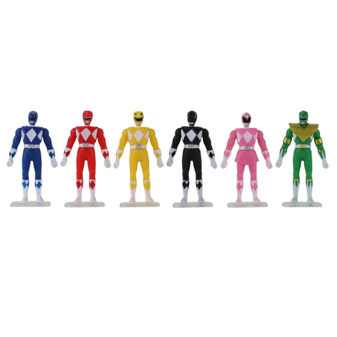 Power Rangers - World's Smallest Set of 6 Micro Action Figures
