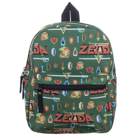 Zelda Allover Sublimated Print Mini Backpack