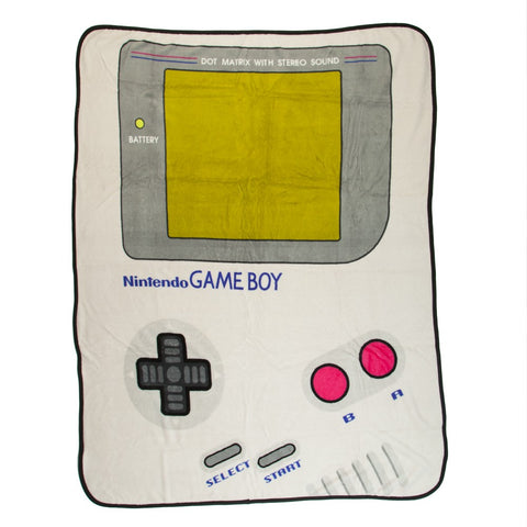 Nintendo Game Boy Fleece Throw Blanket