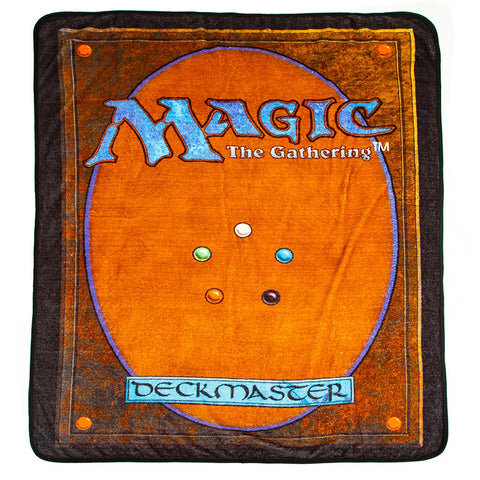 Magic The Gathering Fleece Throw Blanket