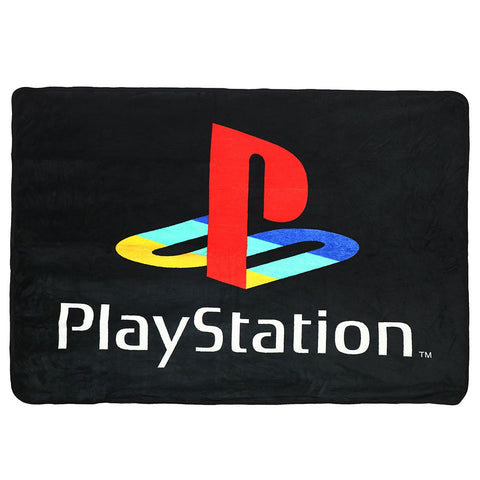 Playstation Logo Fleece Throw Blanket