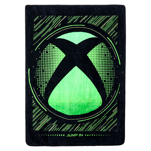 Xbox Logo Fleece Throw