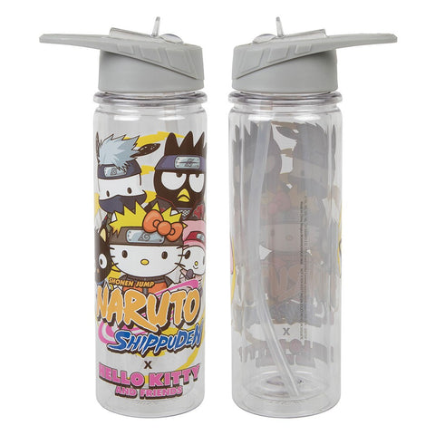 Naruto x Hello Kitty 16 oz. UV Tritan Water Bottle