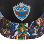 Zelda Sublimated Bill Snapback Hat