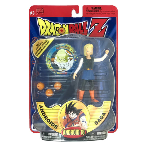 Android 18 - Dragon Ball Z - Series 4 - Action Figure