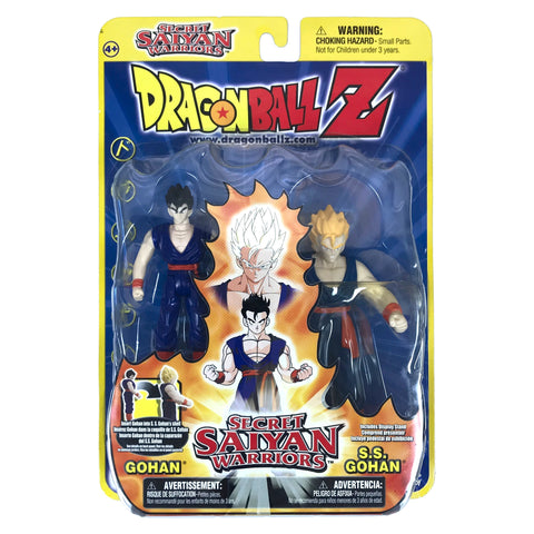 Gohan to S.S. Gohan - Dragon Ball Z - Secret Saiyan Warriors - Action Figure Set