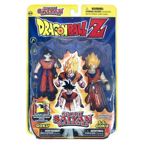 Goku to S.S. Goku - Dragon Ball Z - Secret Saiyan Warriors - Action Figure Set