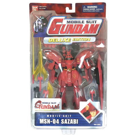MSN-04 Sazabi - Mobile Suit Gundam Deluxe Edition - Action Figure