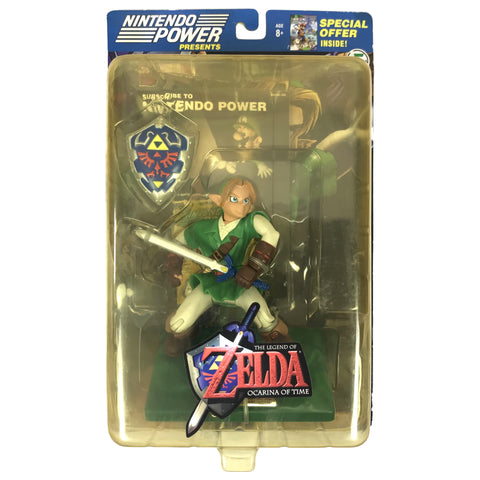 Link - Zelda: Ocarina of Time - Nintendo Power - Series 5 - Action Figure